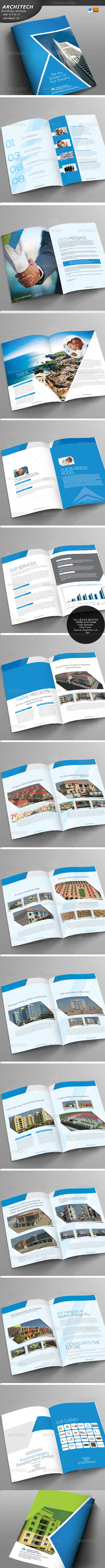 GraphicRiver Industrial Brochure 5124914