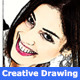 Creative Hand Art Drawing 6 - GraphicRiver Item for Sale