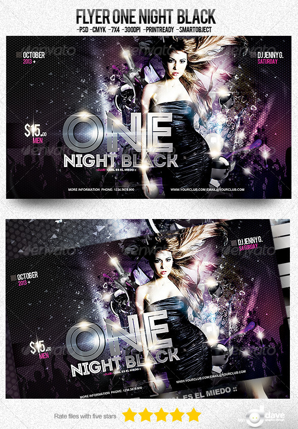 One Night Black - Clubs & Parties Events