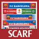 Football - Sport Scarf Design - GraphicRiver Item for Sale
