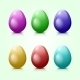 Colored Easter Eggs - GraphicRiver Item for Sale