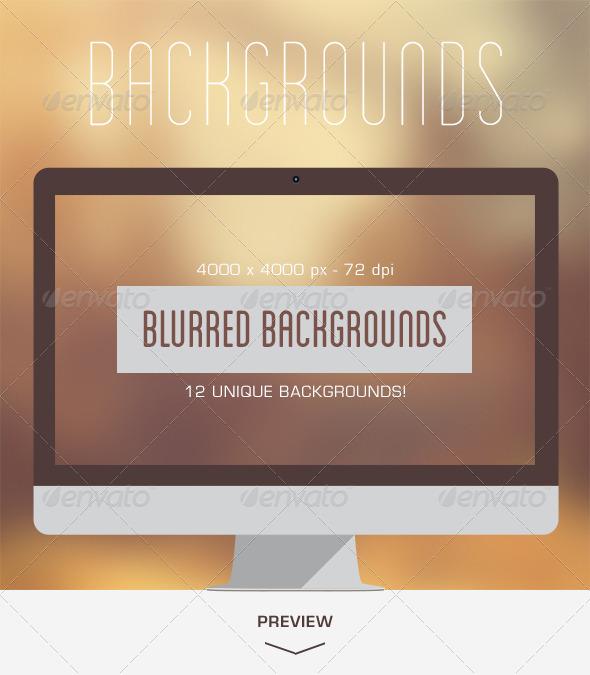 GraphicRiver 12 Blurred Backgrounds V.02 5686425