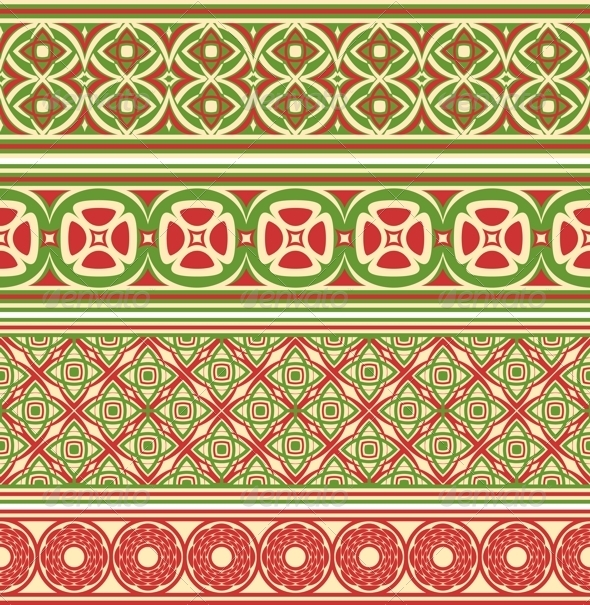 GraphicRiver Decorative Seamless Borders 5686453