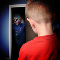 Scary Monster Clown in Boys Closet - PhotoDune Item for Sale