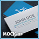 Business Card BlackSeries Mockup - GraphicRiver Item for Sale