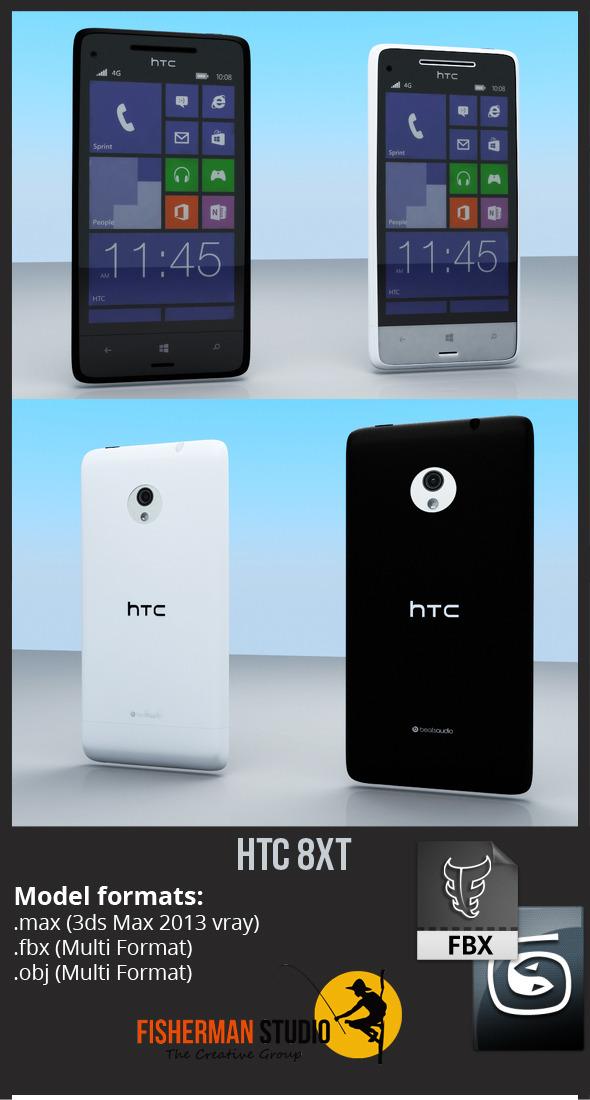 3DOcean HTC 8XT 5687812