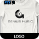 Genius Music Logo - GraphicRiver Item for Sale