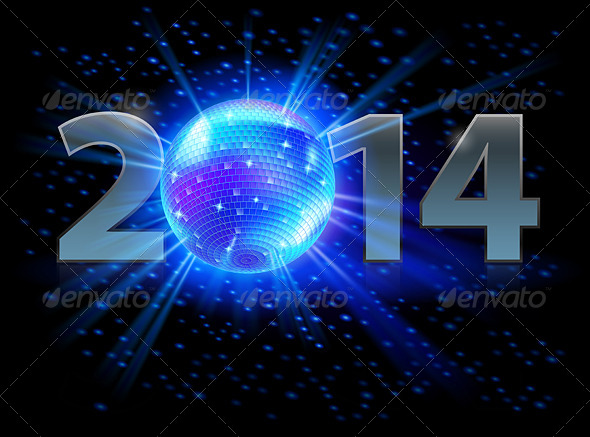 GraphicRiver New Year 2014 5689136