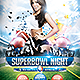 Superbowl Night Flyer Template - GraphicRiver Item for Sale
