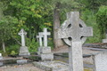 Daylight Graveyard with Stone Cross Gravestones - PhotoDune Item for Sale