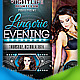 Lingerie Evening Flyer - GraphicRiver Item for Sale