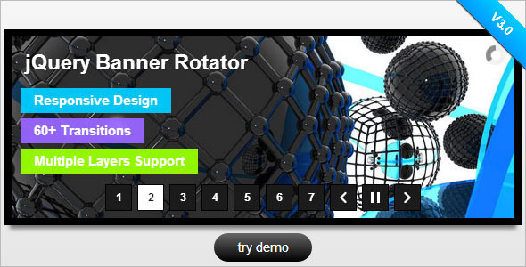 jQuery Banner Rotator / Slideshow - CodeCanyon Item for Sale