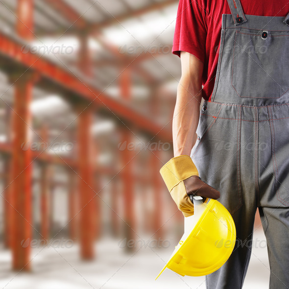 Construction worker - Stock Photo - Images
