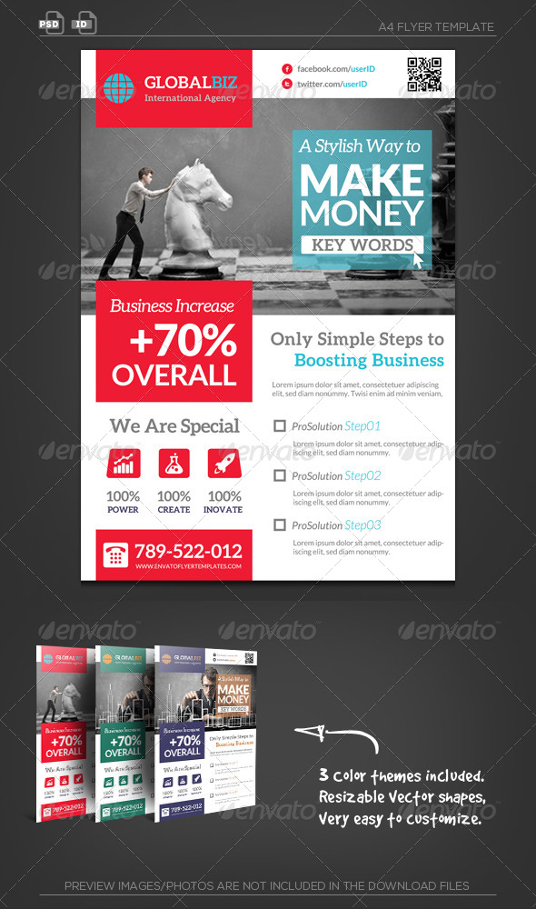 Business Management Corporate Flyer - Corporate Flyers