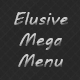 Elusive CSS3 Mega Menu - CodeCanyon Item for Sale