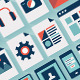 Flat User Interface Icons Set - GraphicRiver Item for Sale