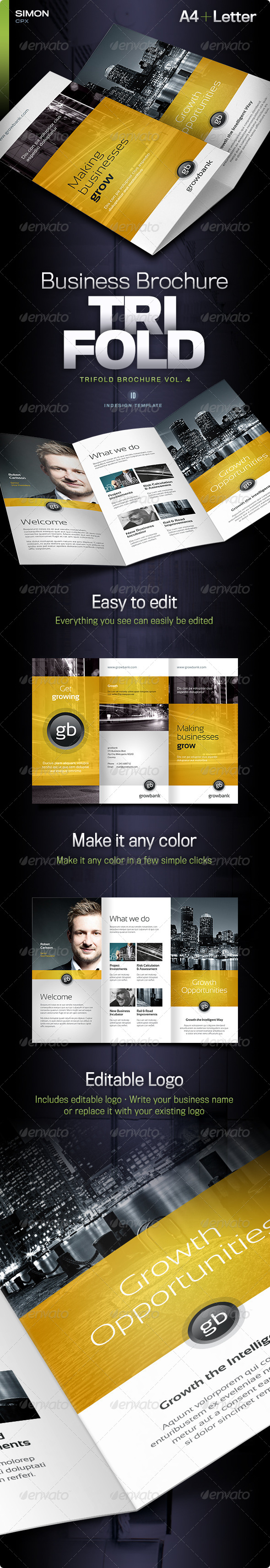 GraphicRiver Trifold Brochure Vol 4 5695928