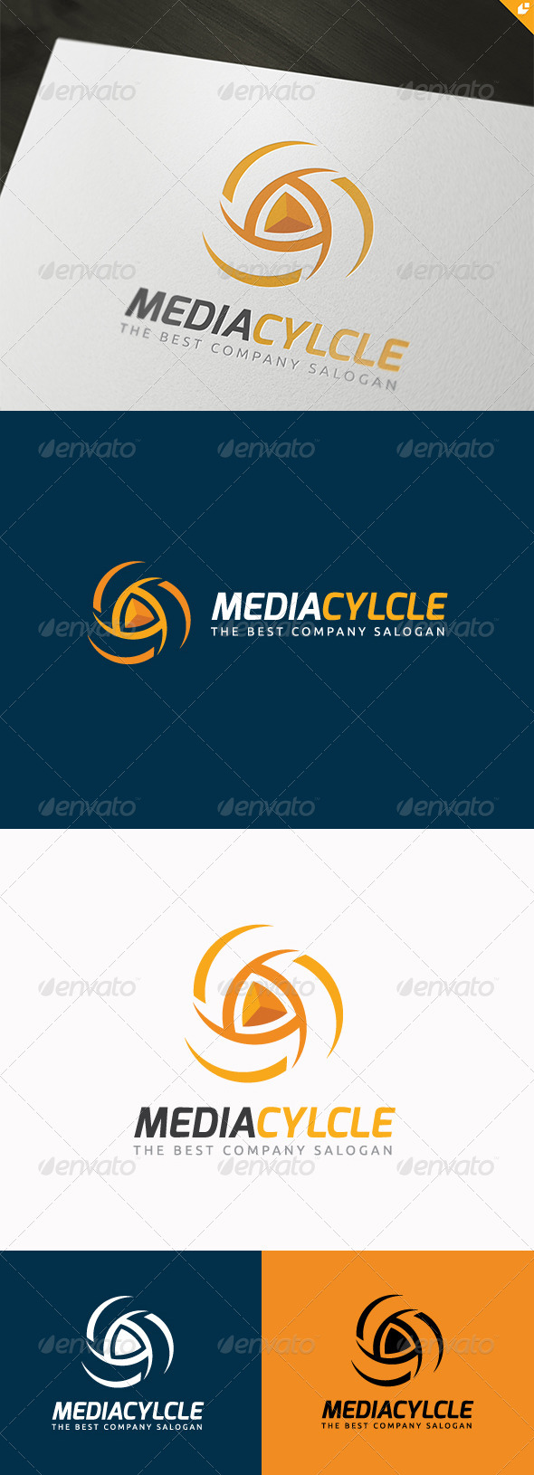 GraphicRiver The Media Cycle Logo 5695950