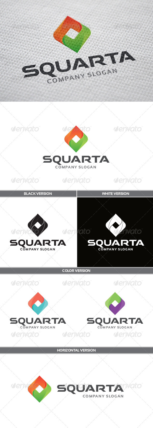 GraphicRiver Squarta Logo 5696018