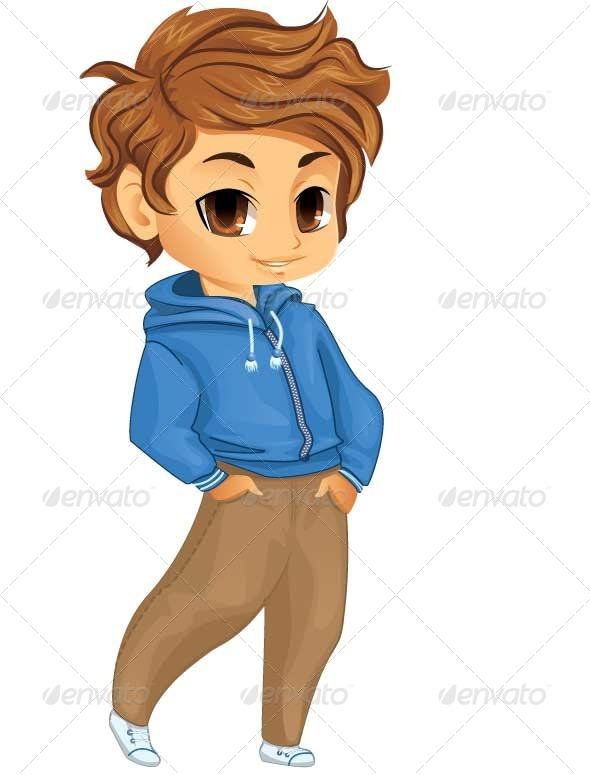 GraphicRiver Little Boy 5697238