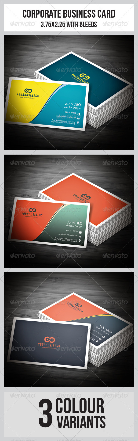 GraphicRiver Corporate Business Cards 5697264