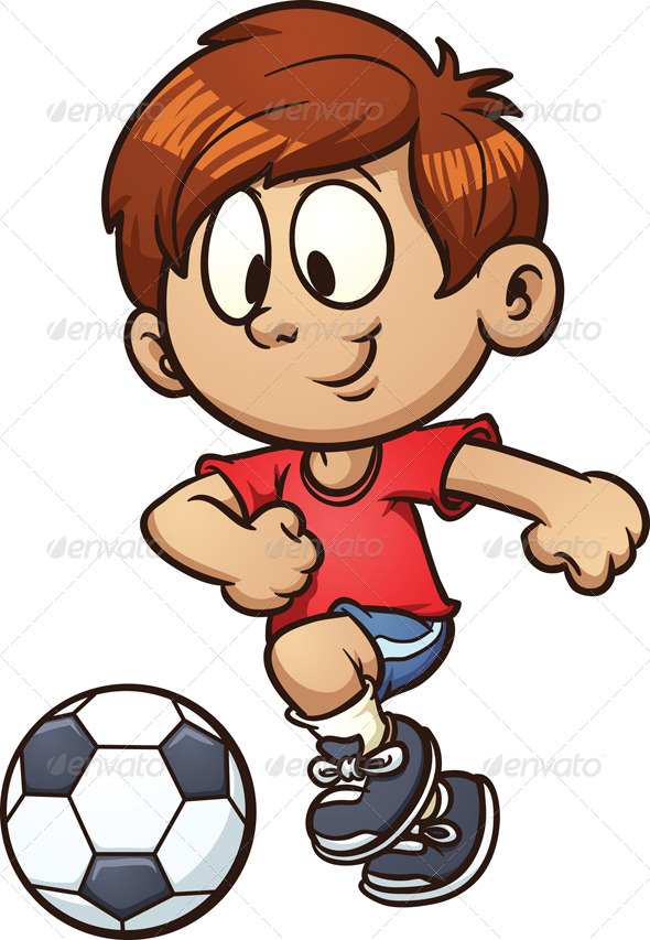 GraphicRiver Soccer Kid 5697992