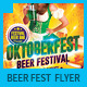 Beer Festival & Oktoberfest Party Flyer - GraphicRiver Item for Sale
