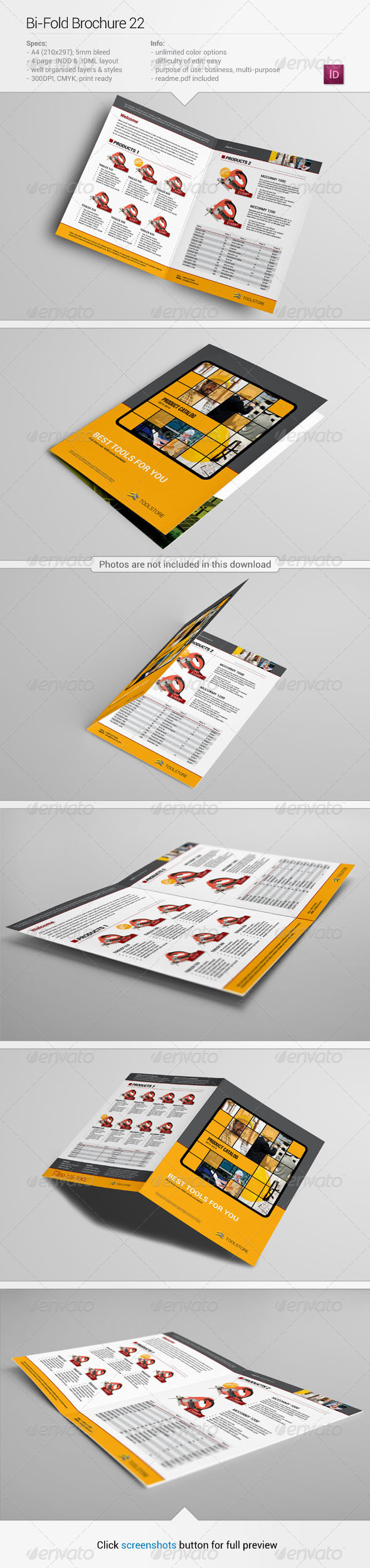 GraphicRiver Bi-Fold Brochure 22 5704682