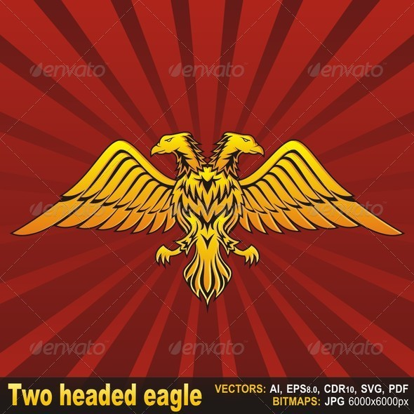 GraphicRiver Two Headed Eagle 5704723