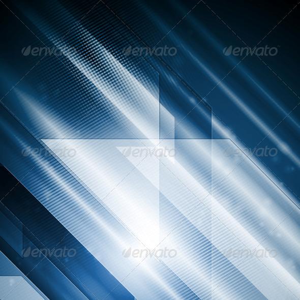 GraphicRiver Bright Hi-Tech Abstract Vector Illustration 5704969