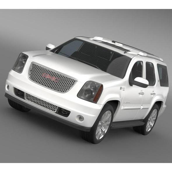 3DOcean GMC Denali Hybrid 2013 5704972