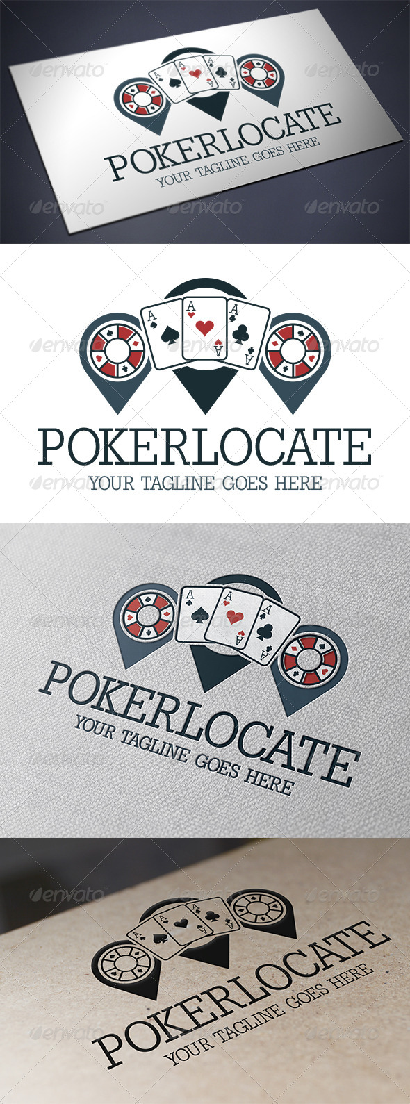 GraphicRiver Poker Locator Logo 5706152