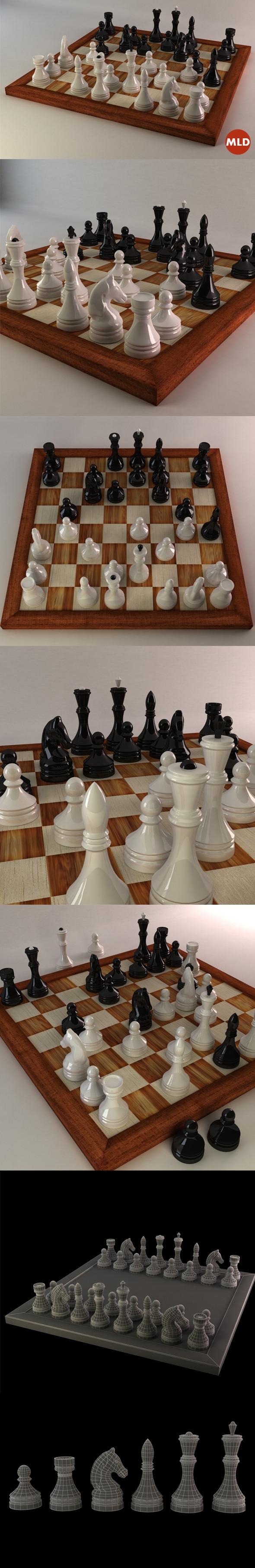 3DOcean Chess 5706294