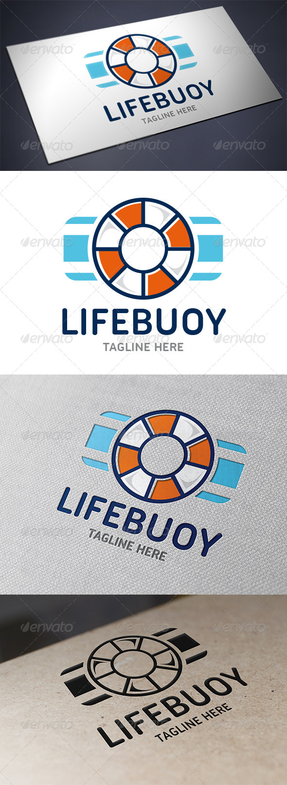 GraphicRiver Lifebuoy Logo Template 5706298