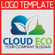 Cloud Eco Logo Template - GraphicRiver Item for Sale