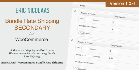 CodeCanyon WooCommerce Bundle Rate Shipping - Secondary 5706776