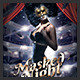 Masked Night Party Flyer - GraphicRiver Item for Sale