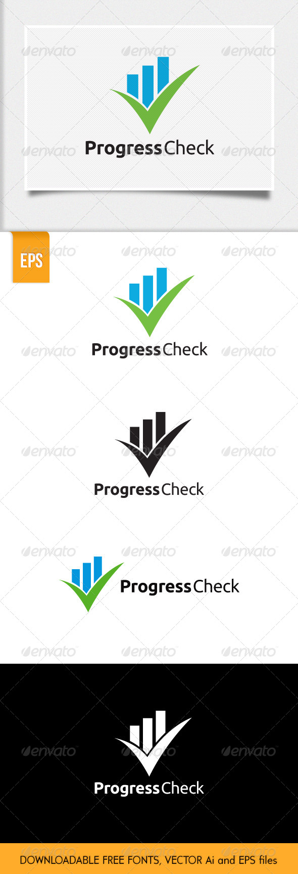 GraphicRiver Check Progress Logo 5706414
