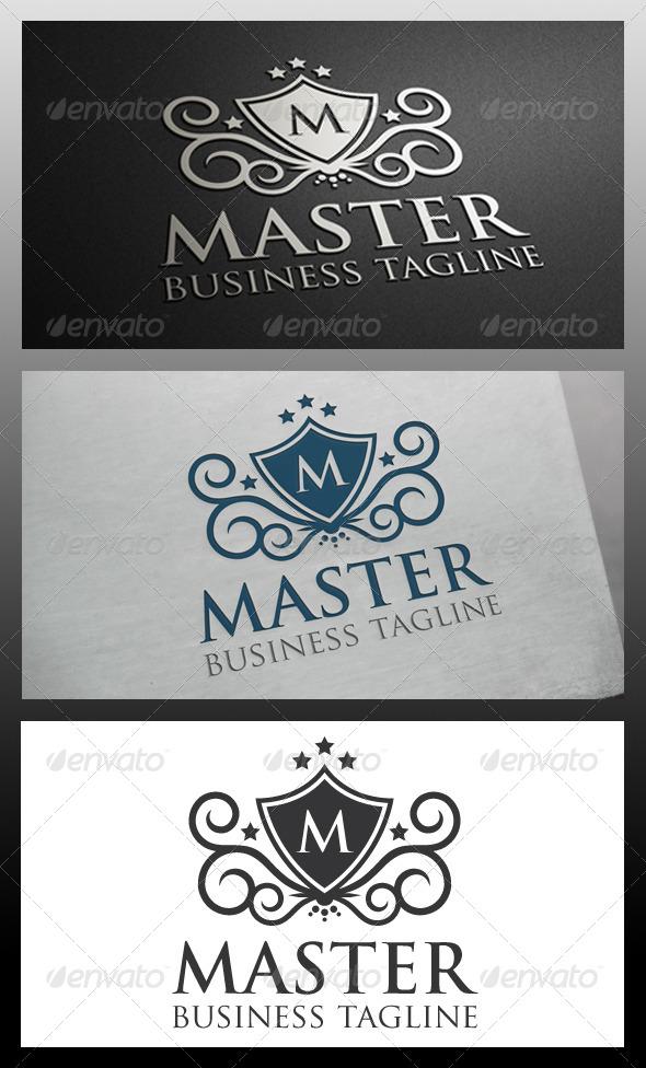 GraphicRiver Master Crest Logo Template 5709970
