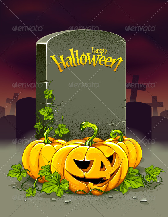 GraphicRiver Halloween Poster 5711002