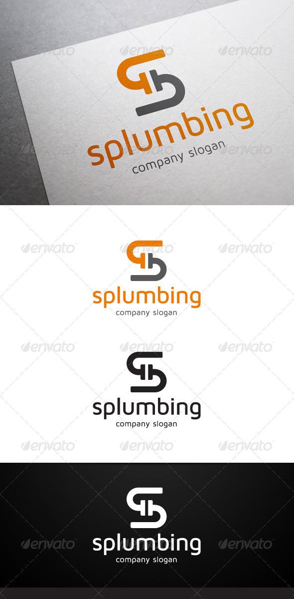 GraphicRiver Splumbing S Letter Logo 5711357