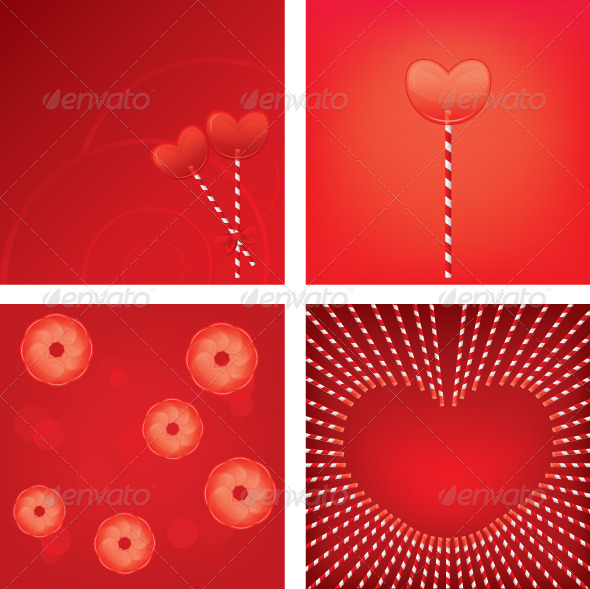 GraphicRiver Heart Shape Lollipop 5712642