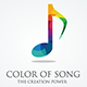 Color of Song Logo - GraphicRiver Item for Sale