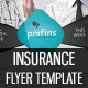 Insurance Flyer Template 01 - GraphicRiver Item for Sale