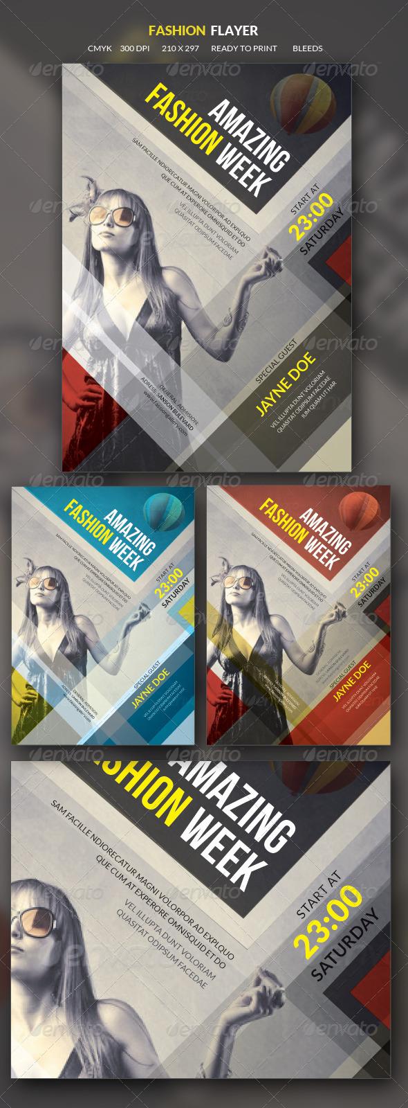 GraphicRiver Elegant Fashion Flyer 5712653