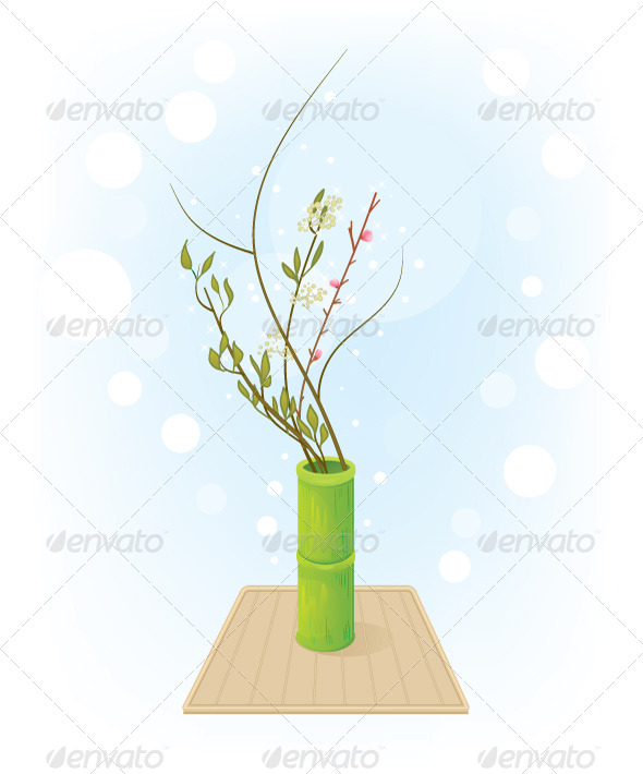 GraphicRiver Flower Arrangement 5712654