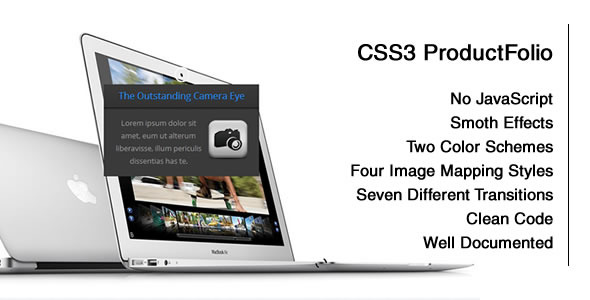 CodeCanyon CSS3 Product-Folio with Image Mapping 5713140