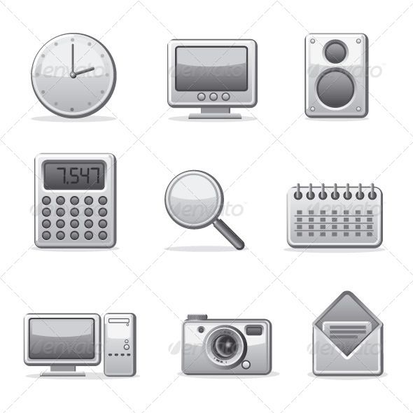 GraphicRiver Applications Icon set 5713312
