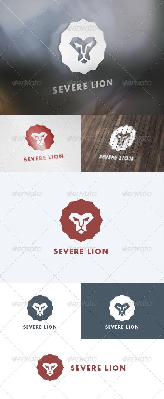 GraphicRiver Severe Lion Logo 5657743