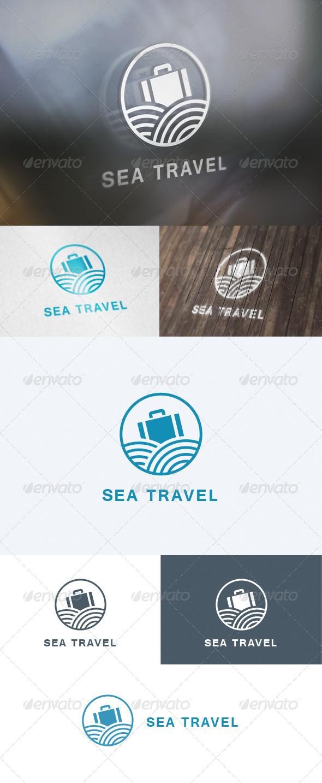 GraphicRiver Sea Travel Logo 5690207